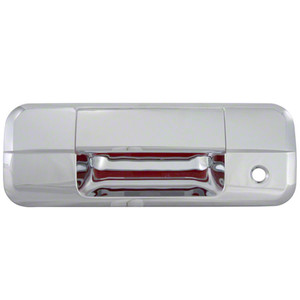 Auto Reflections | Tailgate Handle Covers and Trim | 07-12 Toyota Tundra | 65507-Tundra-tailgate-cover