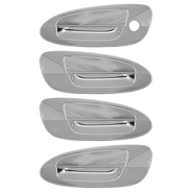 Auto Reflections | Door Handle Covers and Trim | 02-06 Nissan Altima | 68525b-altima-4door-door-handles