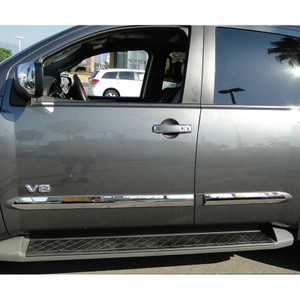Auto Reflections | Side Molding and Rocker Panels | 04-11 Nissan Armada | R5273-Armada-Door-Molding-4pcs