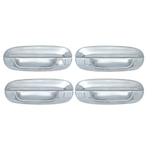 Auto Reflections | Door Handle Covers and Trim | 02-09 GMC Envoy | CCIDH68131B-Envoy