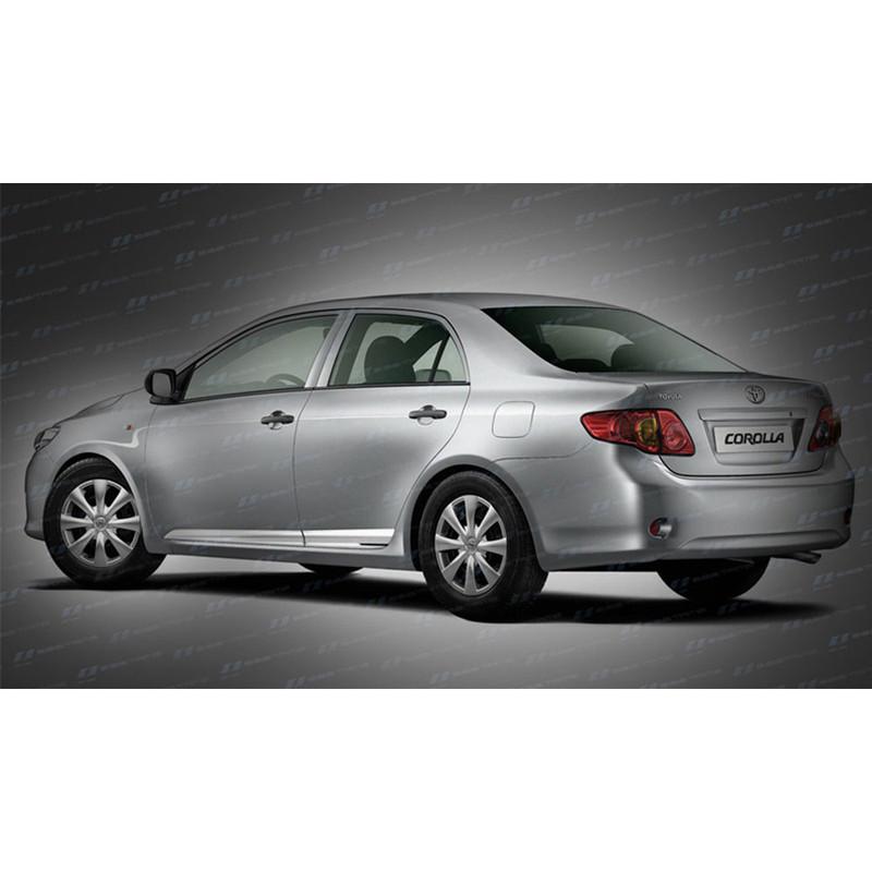SES Chrome Door Molding Trim for 2008-2012 Toyota Corolla