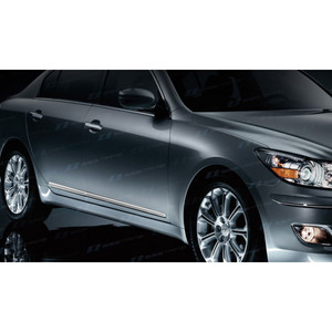 SES | Side Molding and Rocker Panels | 09-13 Hyundai Genesis | CM151-Genesis-Body-Moldings