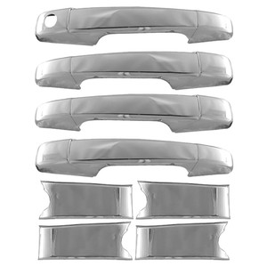 Auto Reflections   Door Handle Covers and Trim   07-14 Chevrolet Tahoe   DH0720-Tahoe-Escalade-Style-Handles