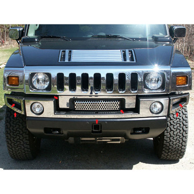 Luxury FX | Bumper Covers and Trim | 03-09 Hummer H2 | LUXFX0280