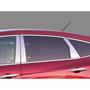 Luxury FX | Pillar Post Covers and Trim | 10-12 Honda Crosstour | LUXFX0518