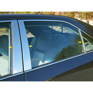Luxury FX | Pillar Post Covers and Trim | 12-14 Toyota Camry | LUXFX0549
