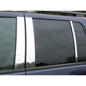 Luxury FX | Pillar Post Covers and Trim | 02-10 Ford Explorer | LUXFX0791