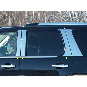 Luxury FX | Pillar Post Covers and Trim | 07-14 Cadillac Escalade | LUXFX0853