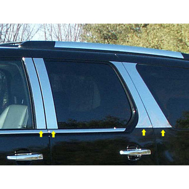 Luxury FX   Pillar Post Covers and Trim   07-14 Cadillac Escalade   LUXFX0854