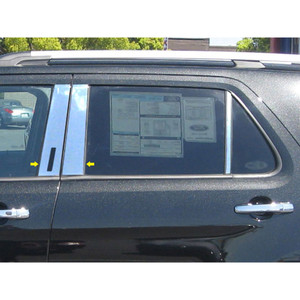 Luxury FX | Pillar Post Covers and Trim | 11-14 Ford Explorer | LUXFX0943