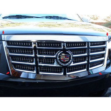 Luxury FX | Front Accent Trim | 07-14 Cadillac Escalade | LUXFX1134
