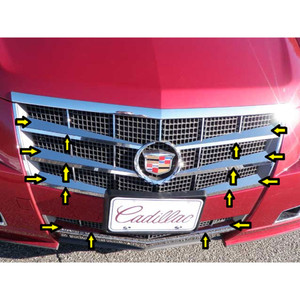 Luxury FX | Grille Overlays and Inserts | 08-13 Cadillac CTS | LUXFX1137