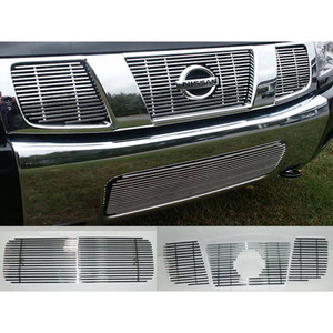 Luxury FX | Grille Overlays and Inserts | 04-07 Nissan Titan | LUXFX1146