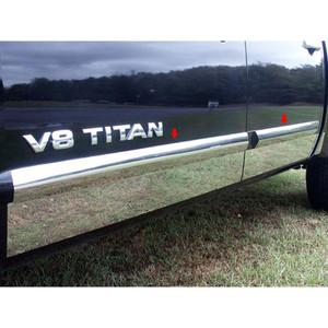 Luxury FX | Side Molding and Rocker Panels | 04-14 Nissan Titan | LUXFX1194