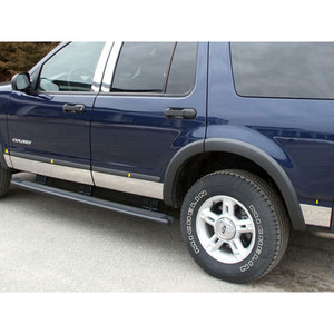 Luxury FX | Side Molding and Rocker Panels | 02-05 Ford Explorer | LUXFX1273