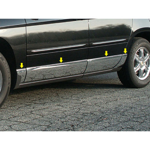 Luxury FX | Side Molding and Rocker Panels | 04-08 Chrysler Pacifica | LUXFX1275