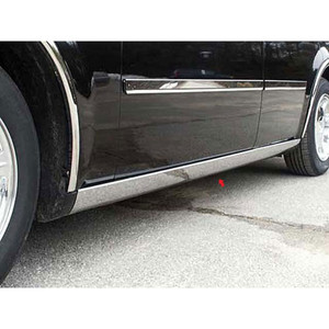 Luxury FX | Side Molding and Rocker Panels | 05-10 Chrysler 300 | LUXFX1290