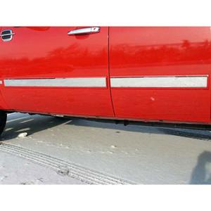 Luxury FX | Side Molding and Rocker Panels | 07-08 Chevrolet Silverado 1500 | LUXFX1312