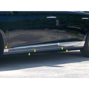 Luxury FX   Side Molding and Rocker Panels   13-14 Cadillac XTS   LUXFX1398