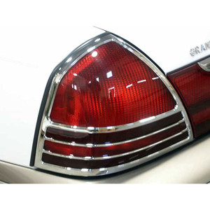 Luxury FX | Front and Rear Light Bezels and Trim | 03-10 Mercury Grand Marquis | LUXFX1413
