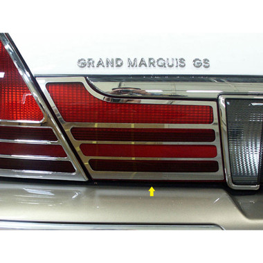 Luxury FX | Front and Rear Light Bezels and Trim | 03-10 Mercury Grand Marquis | LUXFX1414