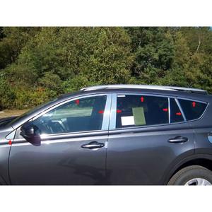 Luxury FX   Window Trim   13-14 Toyota Rav4   LUXFX1454