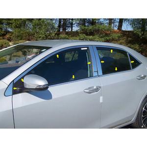 Luxury FX | Window Trim | 14 Toyota Corolla | LUXFX1455
