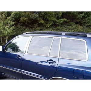 Luxury FX | Window Trim | 01-07 Toyota Highlander | LUXFX1458