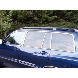 Luxury FX | Window Trim | 01-07 Toyota Highlander | LUXFX1458