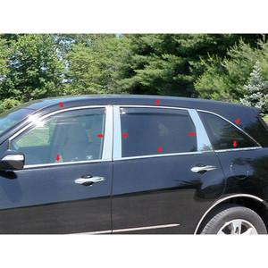 Luxury FX | Window Trim | 07-13 Acura MDX | LUXFX1479
