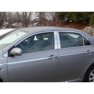Luxury FX | Window Trim | 09-13 Toyota Corolla | LUXFX1490