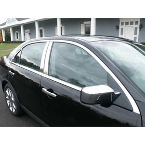 Luxury FX   Window Trim   06-12 Lincoln MKZ   LUXFX1504