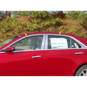 Luxury FX | Window Trim | 14 Cadillac CTS | LUXFX1516