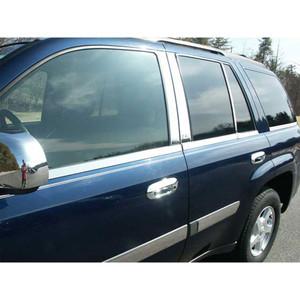 Luxury FX   Window Trim   02-08 Chevrolet Trailblazer   LUXFX1645