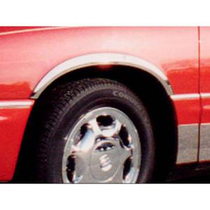 Luxury FX Chrome Pillar Post Set for 1997-2005 Buick Park Ave 4pc