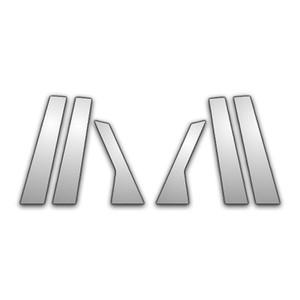 Auto Reflections | Pillar Post Covers and Trim | 10-13 Cadillac SRX | P1458-Chrome-Pillar-Posts