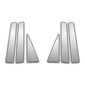 Auto Reflections | Pillar Post Covers and Trim | 07-13 GMC Acadia | P3349-Chrome-Pillar-Posts