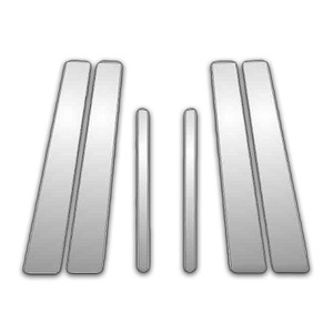 Auto Reflections | Pillar Post Covers and Trim | 98-11 Lincoln Town Car | P4032-Chrome-Pillar-Posts
