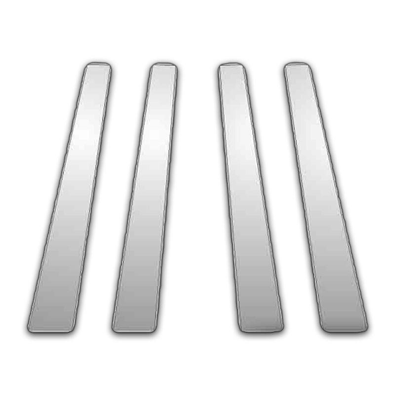 Chrome Pillar Posts fit Lincoln Towncar 90-97 8pc Set Door Trim Mirrored Cover