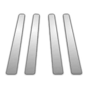 Auto Reflections | Pillar Post Covers and Trim | 08-13 Nissan Versa | P5324-Chrome-Pillar-Posts