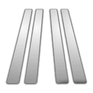 Auto Reflections   Pillar Post Covers and Trim   97-01 Toyota Camry   P6615-Chrome-Pillar-Posts