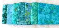 "AAAQuilter's Supply ""Tropical Breeze"" Fat Quarter Bundle"
