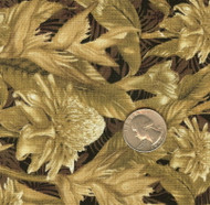 "Avlyn ""Sahara Collection"" Greenish/Brown Yardage"