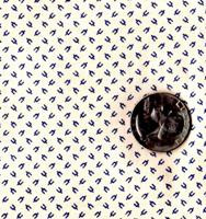 "Blue Hill Fabrics ""Vintage Shirtings"" Blue & Cream II"
