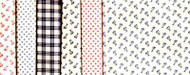 "Blue Hill Fabrics ""Vintage Shirtings"" Fat Quarter Bundle"