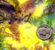 AAAQuilter's Supply Batik Purple/Yellow/Green 264