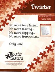 """Twister"" Pinwheel Ruler"