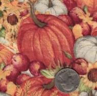 """Springs Industries """"Pumpkin Field"""""""