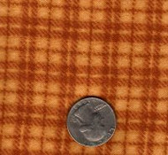 "Maywood Studios ""Woolies Flannel"" Medium Plaid Gold"