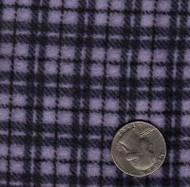 "Maywood Studios ""Woolies Flannel"" Medium Plaid Violet"